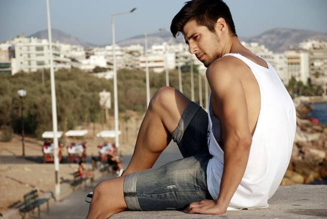 """Sun's out, guns out"" by Harris Karipidis Check out http://fashionattendant.com/2013/09/01/suns-out-guns-out/ for more photos!"