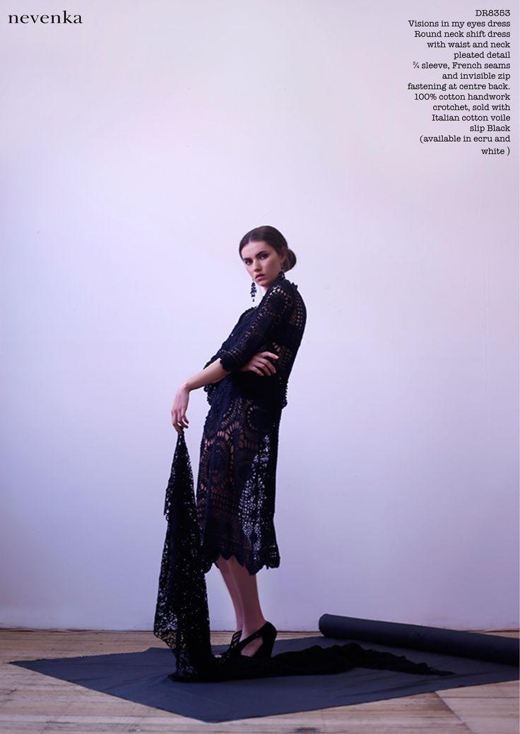 NEVENKA AW14 LONE WOLF COLLECTION #fashion #a/w #designer #nevenka #lookbook #photoshoot #editorial #beautiful # luxury #luxe #beauty #FashionInspo #goddess #lonewolf #studio #dark  #gown www.nevenka.com.au