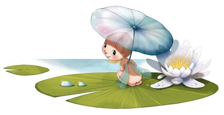 la fiancée au beurre salé: Birth of a fairy