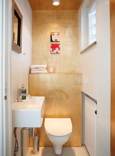 A Very Small Bathroom That Could Be Completely Uneventful But Isn T Due To