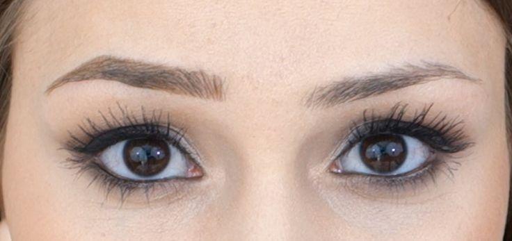 Augenbrauen Tutorial - Formen, Auffüllen, Definieren