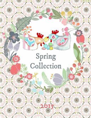 Bustle & Sew Spring Pattern Collection sampler