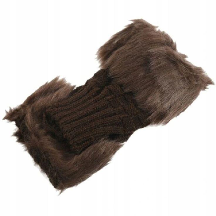 Rekawiczki Damskie Bez Palcow Futerko Oversize 9001523820 Oficjalne Archiwum Allegro Winter Hats Hats Gloves