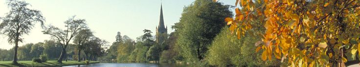 Royal Leamington Spa historic Spa and shopping town in Warwickshire