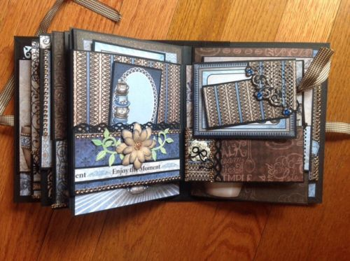 Handmade-mini-album-using-Heartfelt-Creations-Coffee-Talk-collection