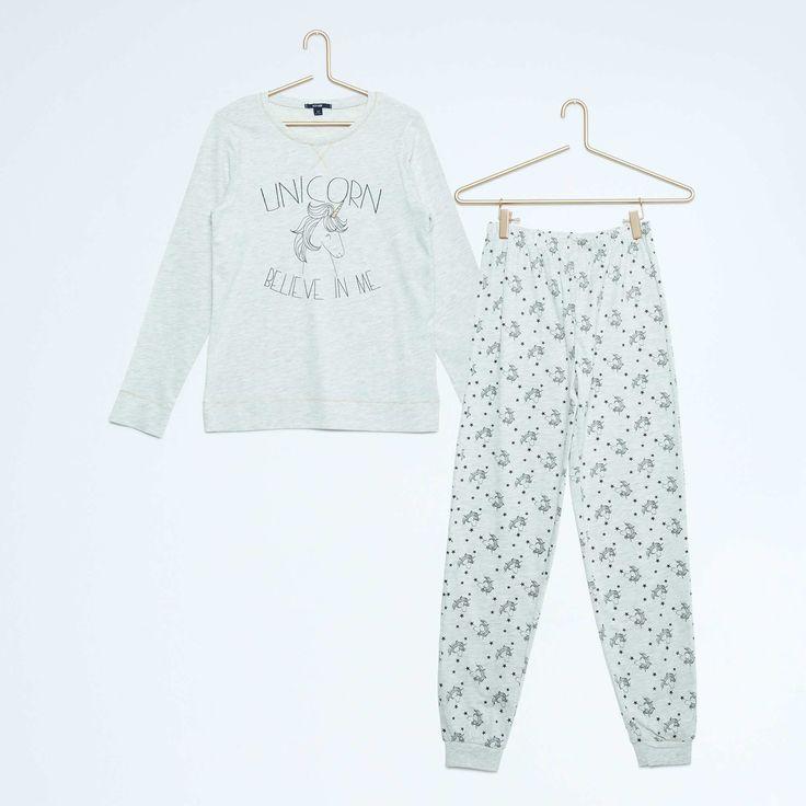 les 25 meilleures id es de la cat gorie pyjama licorne. Black Bedroom Furniture Sets. Home Design Ideas