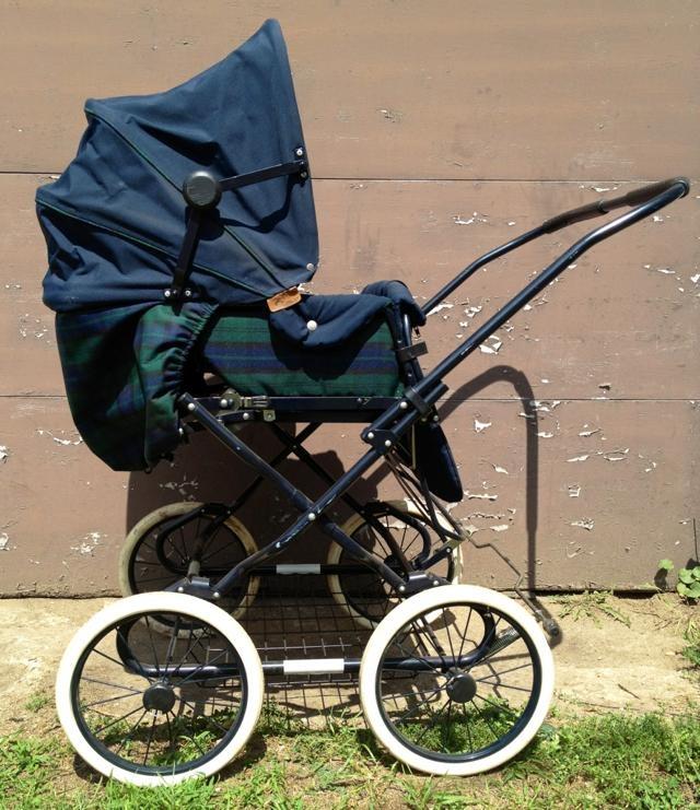 Simo Double Pram/Stroller 85 Poussette, Landau