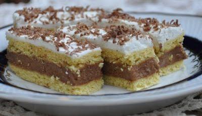 Receptek, és hasznos cikkek oldala: Kati szelet recept – Lehet csokireszelékkel meghinteni a tetejét. Nagyon finom, mutatós sütemény