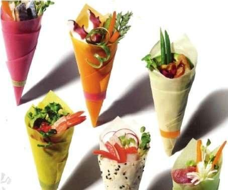 food in a cone for your next event