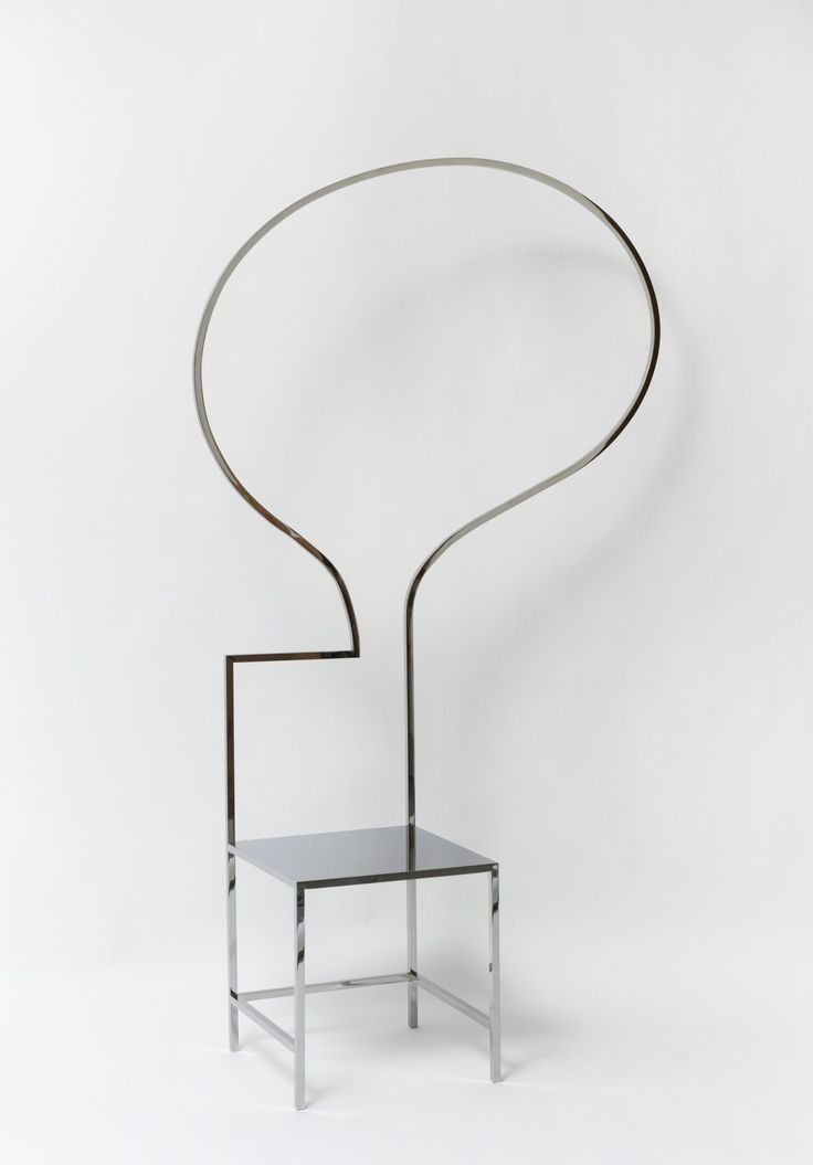 manga chair designed by nendo