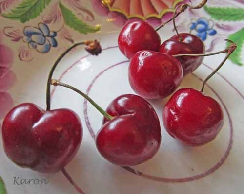 How To Make Cherry Brandy, an easy recipe for making this traditional liqueur at home. www.larderlove.com