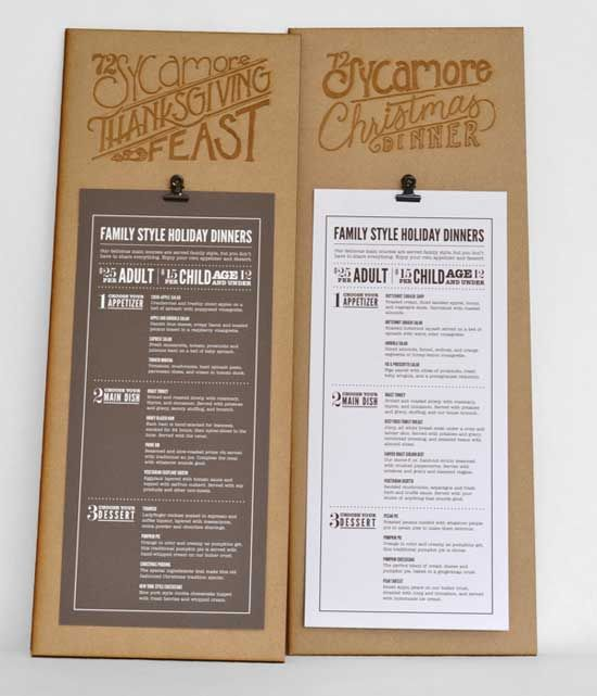 like the idea of putting lto up top on wood and color coding lunch and dinner restaurant menu designrestaurant