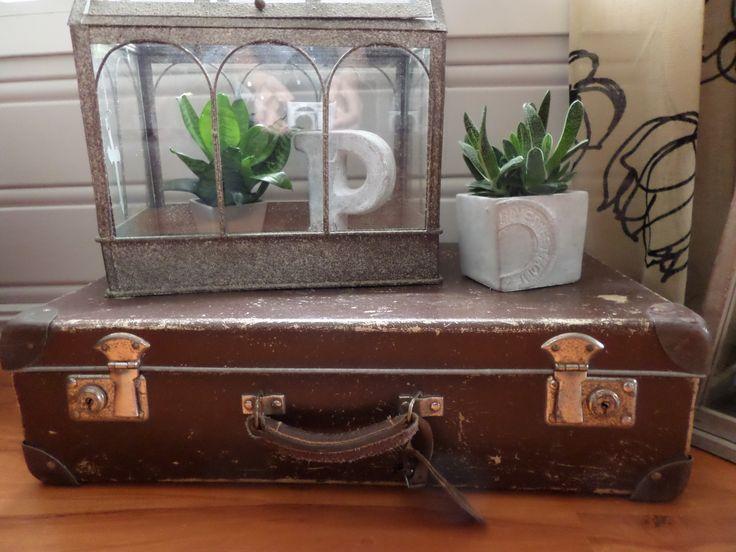 Gammel koffert