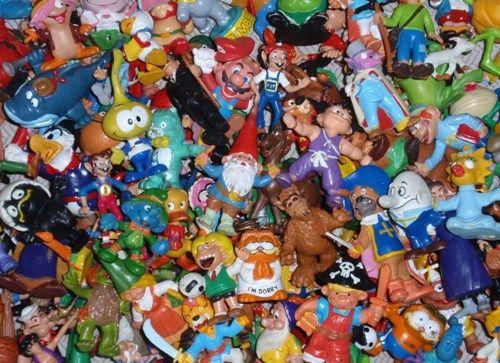 Unos cuantos de estos muñecos tenía...
