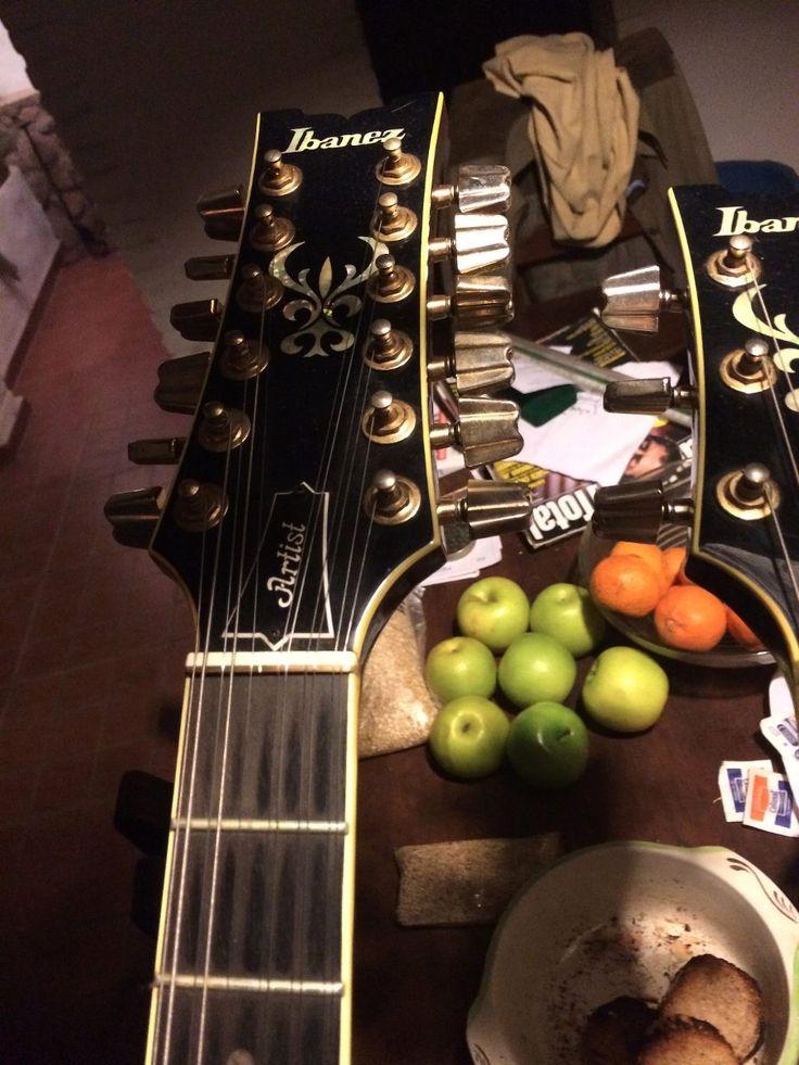 ibanez artist doble mango 12 6 guitarra vintage japon