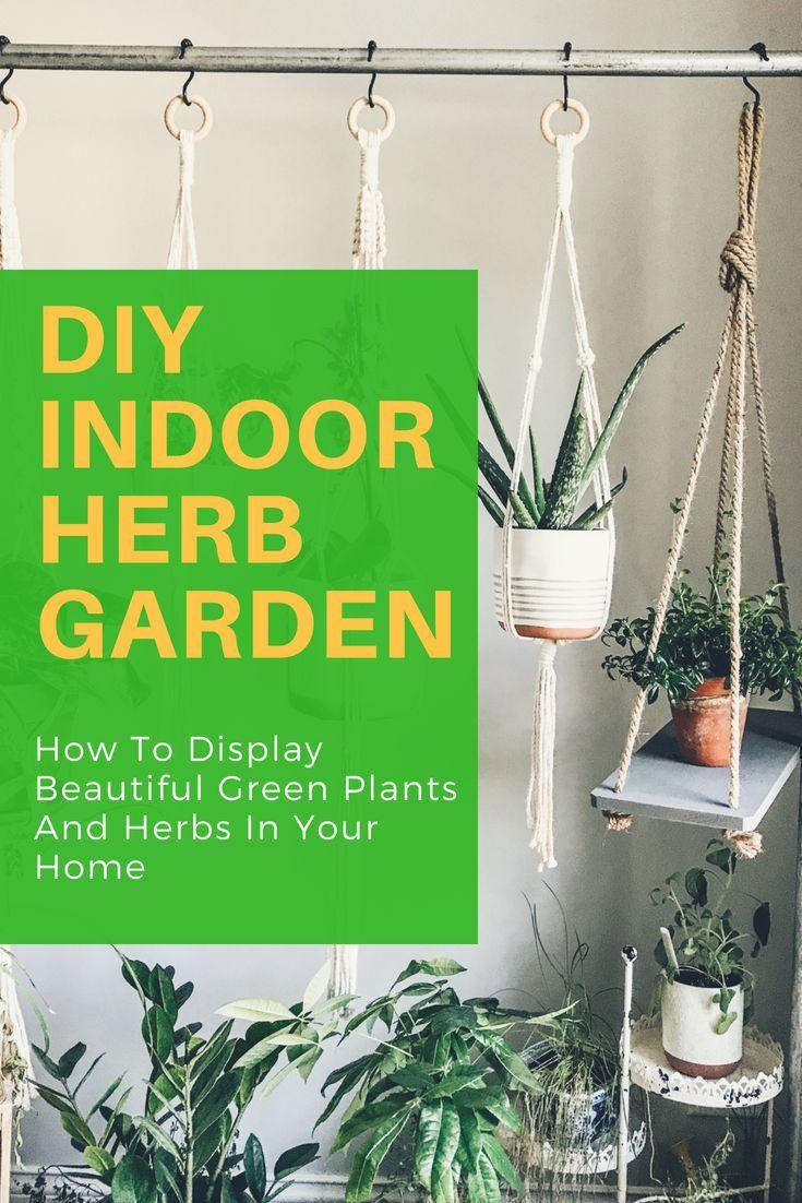 Diy Rolling Herb Garden Herbs Indoors Herb Garden Design