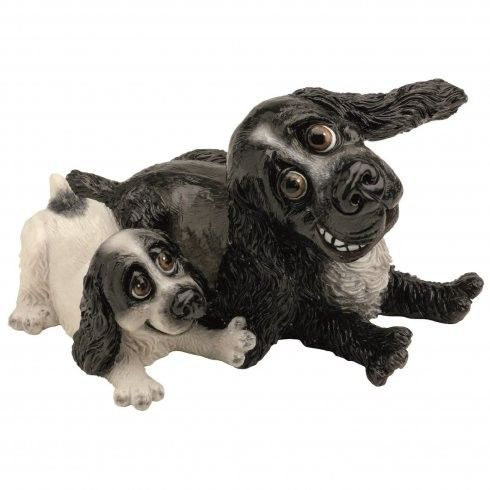 Pets With Personality - Cocker Spaniel & Pup Available @ Li'l Treasures $68. (International Shipping available)