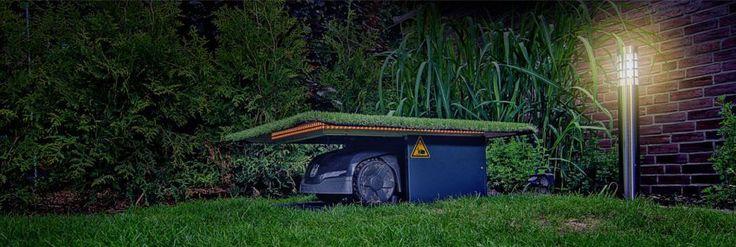 tiefgarage f r den m hroboter automower. Black Bedroom Furniture Sets. Home Design Ideas