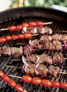 Barefoot Contessa - Recipes - Marinated Lamb Kebabs