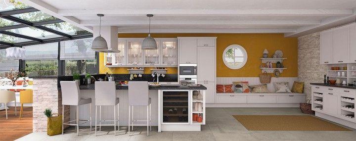 17 meilleures id es propos de cuisine ixina sur pinterest ixina cuisine meuble laqu et - Keuken amenagee et equipee ...