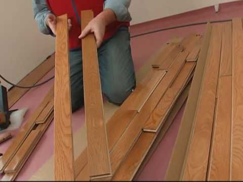 How To Install A Solid Hardwood Floor | Http://homechanneltv.com/
