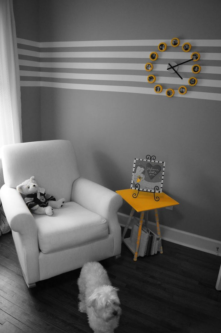 Wall paint ideas stripes - This Is The New Chair Rail Wall Stripesthe Stripesstriped Painted