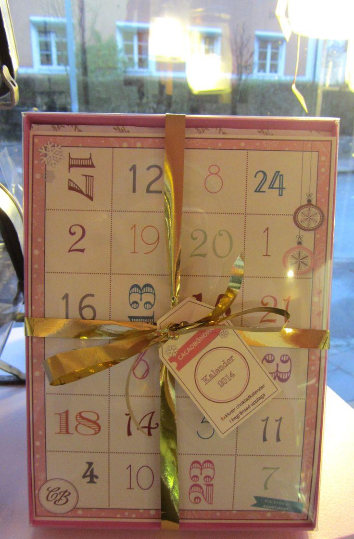 Cacaobönorna chocolates calendar 2014.