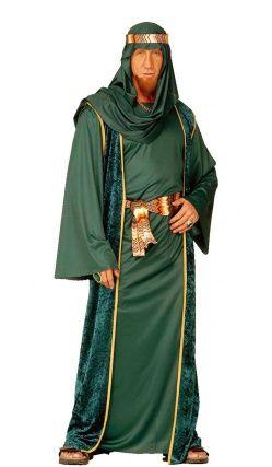 Deguisement Cheik Arabe Vert