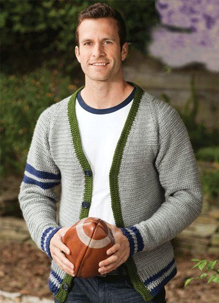 The Varsity Sweater | crochet today
