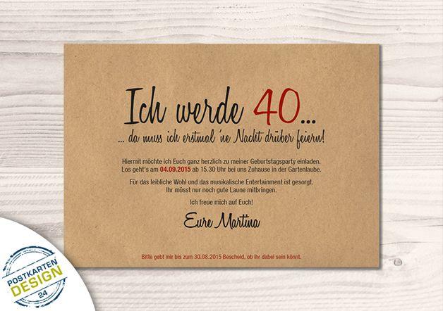 Für die individuelle Gestaltung dieser Einladungskarte benötigen wir folgende Daten: - persönliche Texte für die Vorder- und Rückseite - Farbwünsche für Karte und Umschlag   **Bitte senden Sie...