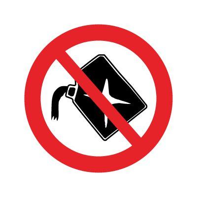 Påfyldning af bensin forbudt - Køb forbudsskilte