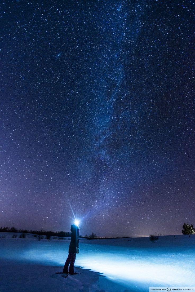 Les aurores boréales en hiver - Photo: Hugo Lacroix
