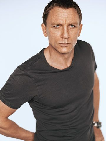 Daniel Craig. I didn't find him that attractive until I watched interviews from TGWTDT, and he seems really down to earth.