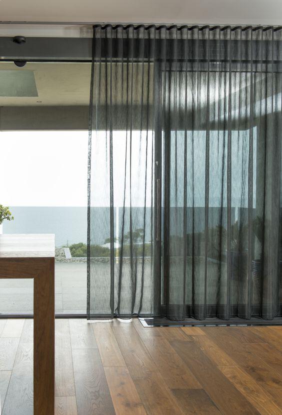 sheer curtain inside window recess - Google Search