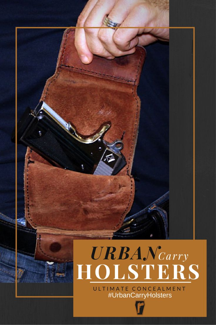 Urban Carry Holsters- A new way to conceal carry