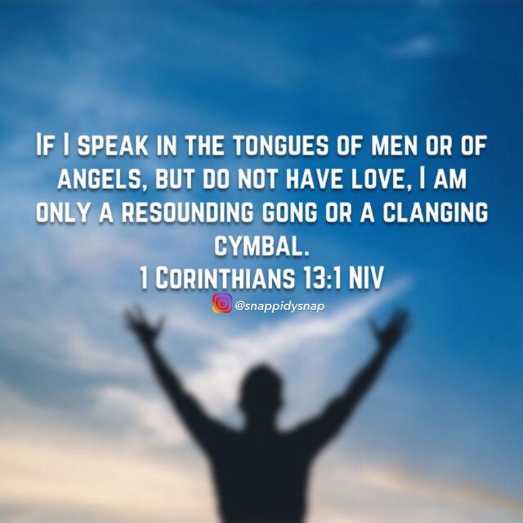 1 Corinthians 13:1 #bible #bibleverse #biblestudy #teamjesus #GodsWord #godisgood #jesuschrist #jesussaves