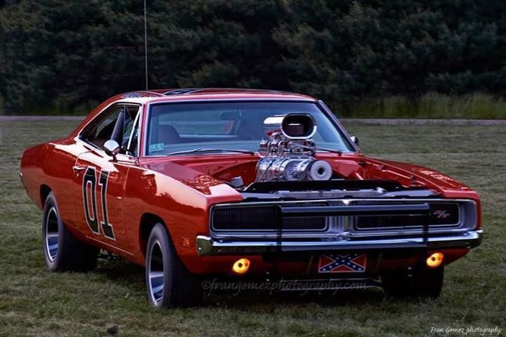 General Lee With A Blower Motor Car Junkies And Stuff