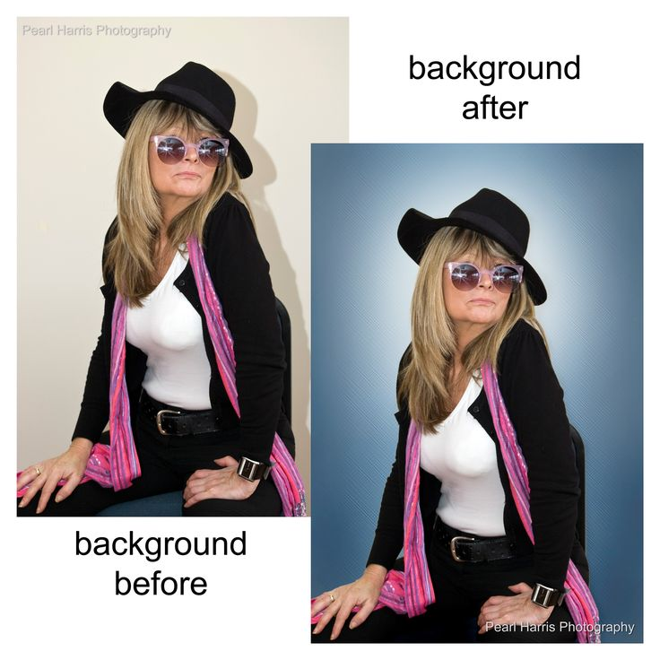 """One of my favourite Clients - Diana Swan! :) This is a pic I took and the before and after some """"creative"""" photo editing of the background."""