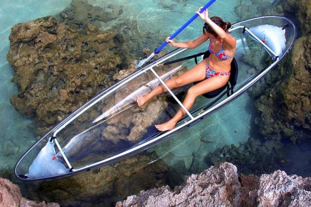 Clear Blue Hawaii Molokini Kayak