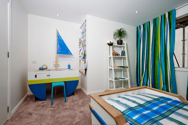 Winning kids room from Maree and James' The Block NZ 2014