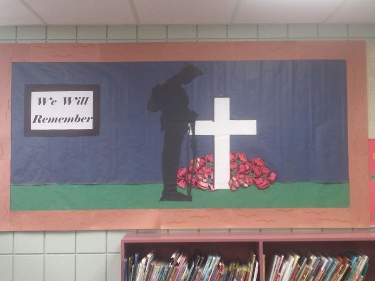 Image result for remembrance day bulletin board