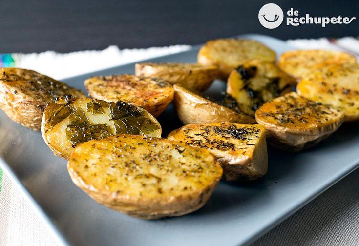 Patatas asadas o al horno con especias - Recetasderechupete.com