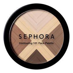 Contouring - 101 Face Palette de Sephora sur sephora.fr : Toutes les plus grandes marques de Parfums, Maquillage, Soins visage et corps sont sur Sephora.fr