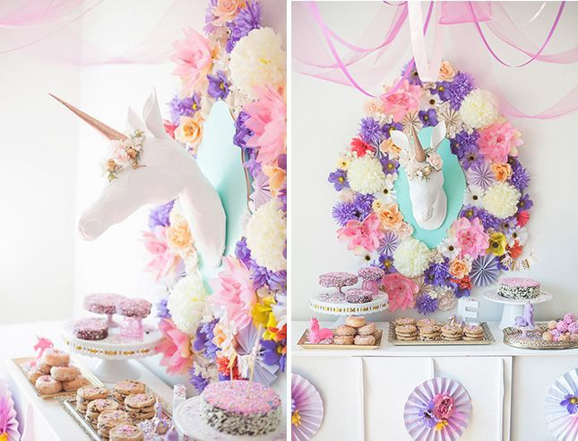 Baby shower theme ideas. Lots of these are great for other parties as well. I especially like the unicorn one.