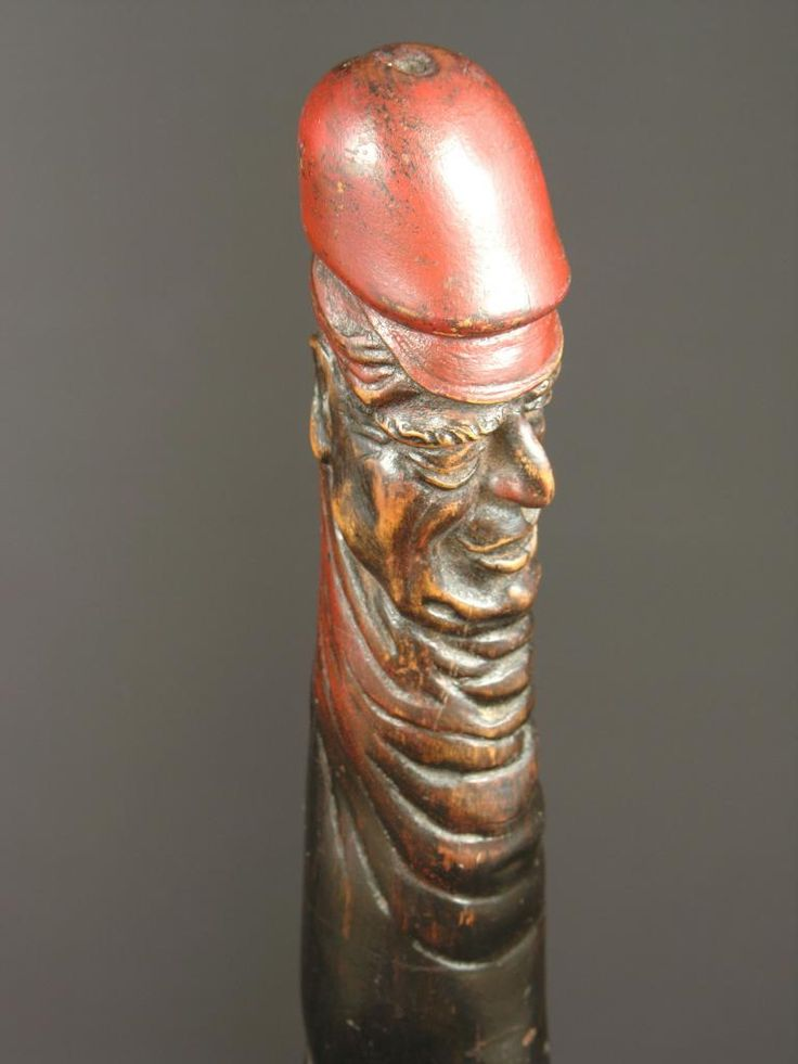 EROTICAL FOLK ART CANE