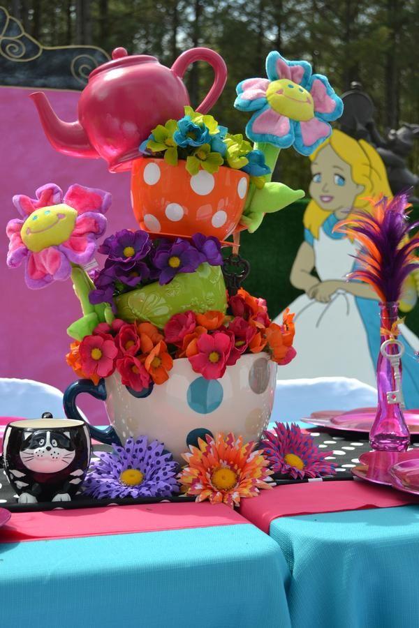 About Alice In Wonderland Party On Pinterest Alice In Wonderland