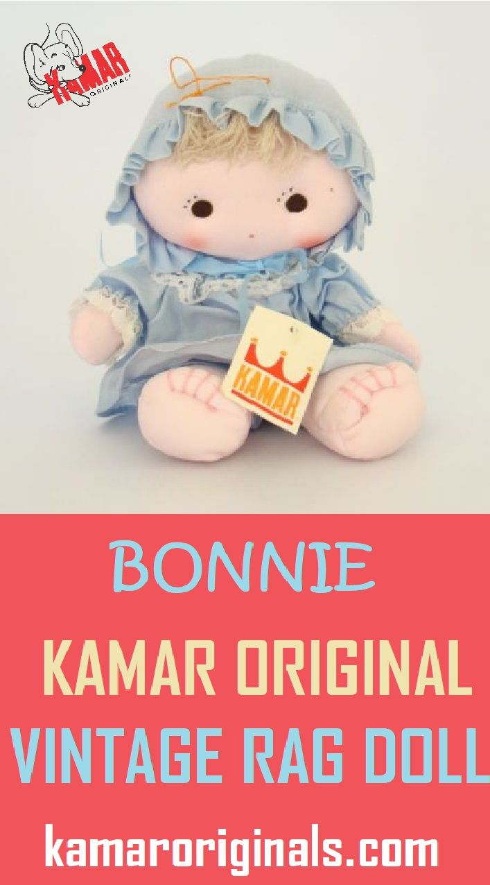 Kamar Vintage Bonnie Is A Beautiful Little Soft Kamar Vintage Doll And Was A