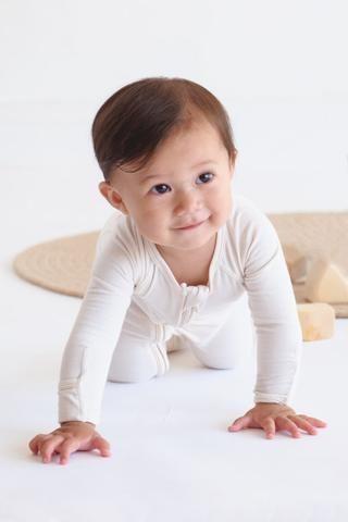 Boody Baby Long Sleeve Onesie - Boody Organic Bamboo Eco Wear