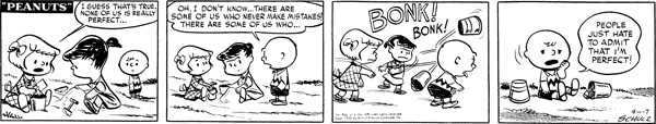 1952 ANOTHER EGO TRIP!! WHAT HAPPENED LATER CHARLIE BROWN??? Peanuts on Gocomics.com
