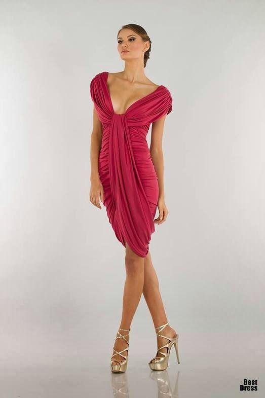 Sencillos Vestidos para fiestas Modernos   Vestidos de fiesta 2015